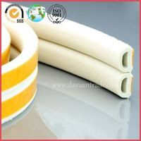 D-shaped EPDM sponge soft foam rubber sound proof sealing strips/wooden door self-adhesive gaskets thumbnail image