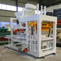Hollow Hydraulic Automatic Brick Forming Concrete Block Making Machine thumbnail image