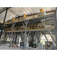 Block-type mortar production line with 200-3000m2 Floor area