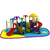 Good quality and cheap commercial playground play structure for preschool kids thumbnail image