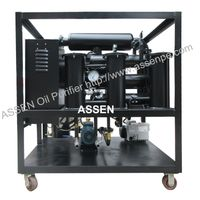 High Vacuum Transformer Oil Purifier unit