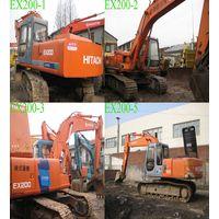 Used Excavator Hitachi EX200, Secondhand crawler excavators thumbnail image