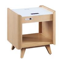 Smart Charging Bedside Lamp Table Bedroom Furniture Nightstand thumbnail image