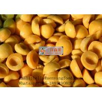 IQF yellow peach dices / halves