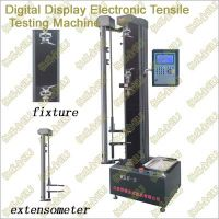 Digital Display Electronic Tensile Testing Machine (single space)(cantilever)