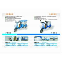Hot sale 48V 500W three wheel electric cleaning vehicle