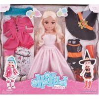 17inches roll conversion Maylla dressing up girl doll with doll clothes