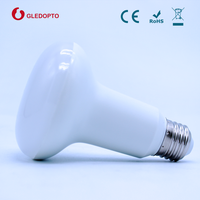 2.4G RF remote control WIFI enabled 9W RGBW smart LED PAR Light bulb with E27 Base Type thumbnail image