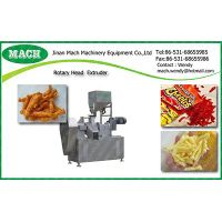 corn curls snack food making machine