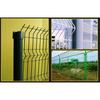 V-folds expanded metal wire mesh  fence thumbnail image