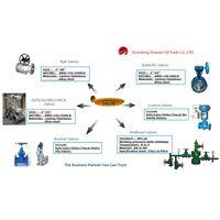 API 6A & 6D oil feild valves series
