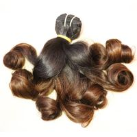 Fumni classic color weft human hair in extension thumbnail image