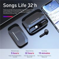 B36 tws earpiece bluetooth earphone stereo hifi wireless mini earbuds with sliding closure