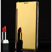 Luxury Clear View Flip Case For Samsung Galaxy A3 2016 A5 2016 Mirror Hard Cover Phone Case