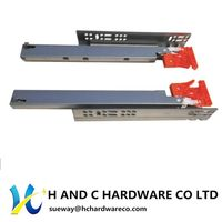 Push to Opening Soft Close Ball Bearing Drawer Slides China Factory thumbnail image