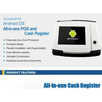 """Dynamic POS 10""""android pos terminal with printer"""