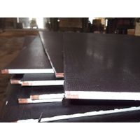 Fire resistant anti-slip black film faced plywood