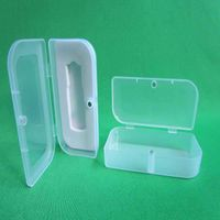 plastic transparent gift usb packaging boxes