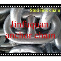 stud link anchor chains hot selling galvanized link chains