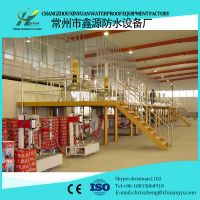 Waterproof coating production line