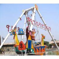thrilling amusement ride pirate ship