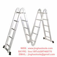 4X5 Aluminum multi purpose folding ladder