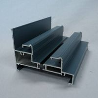 Anodized Aluminum Profile, Widely Used in Buildings and Decorating Areas thumbnail image