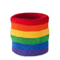 cotton sports wristbands with customers' logo thumbnail image