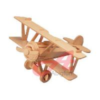 Nieuport 17 wooden model craft plane construction kit