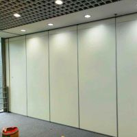 Soundproof Sliding Folding Floor To Ceiling Movable Wall Partition For Restaurant thumbnail image