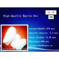 White Barite Lumps/Ore