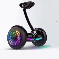 10 inch self balancing hoverboard smart electric scooter with adjustable handlebar thumbnail image