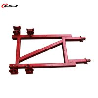 Construction Hoist Elevator Mast Section DIP Painted Galvanized Wall Tie Frame thumbnail image