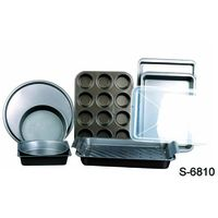carbon steel bakeware set with non-stick coating
