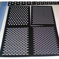 industrial aluminum perforated metal sheets panel