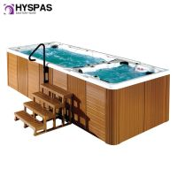 Hyspas Luxury Garden 6 Meter Outdoor Swim Jacuzzi Hot Tub SPA (HY-8801)