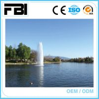 customized, stainless steel lake fountain, floating music fountain,