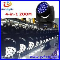 Professional stage lighting 19pcs*12w 4 in 1 rgbw led moving head light thumbnail image