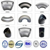 ASTM A403 WP 304L steel elbow pipe fitting