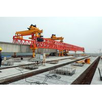 220t drawing customized trussed beam launcher Bridging Machine to move girder