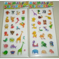 Sponge sticker, Puffy sticker, Bubble sticker, Decorative sticker, DIY sticker, Kids Sticker, PVC st thumbnail image