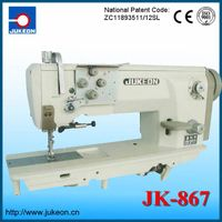 New Thick material lockstitch industrial  sewing machine  JK-868( Double-needles)