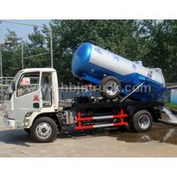 Dongfeng 3000 litres Vacuum Tank Truck thumbnail image