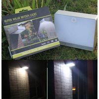 ELS-06P Motion sensor solar wall led light with rechargable polymer li-ion battery thumbnail image
