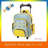 Multi-functional microfiber trolley backpack bag thumbnail image
