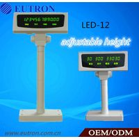 LED customer display with RS232 interface for pos system,fiscal printer