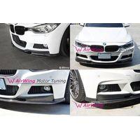 F30 -[M-TECH bumper]- 3D DESIGN style Carbon Front Lip Spoiler