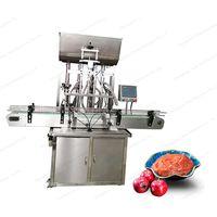 automatic peannut sauce honey shampoo paste filling machine