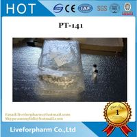 Buy Pure Bremelanotide Peptides PT-141 For Bodybuilding CAS 189691-06-3
