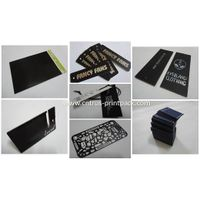 Black Hanging Tags & Black Cards Printing